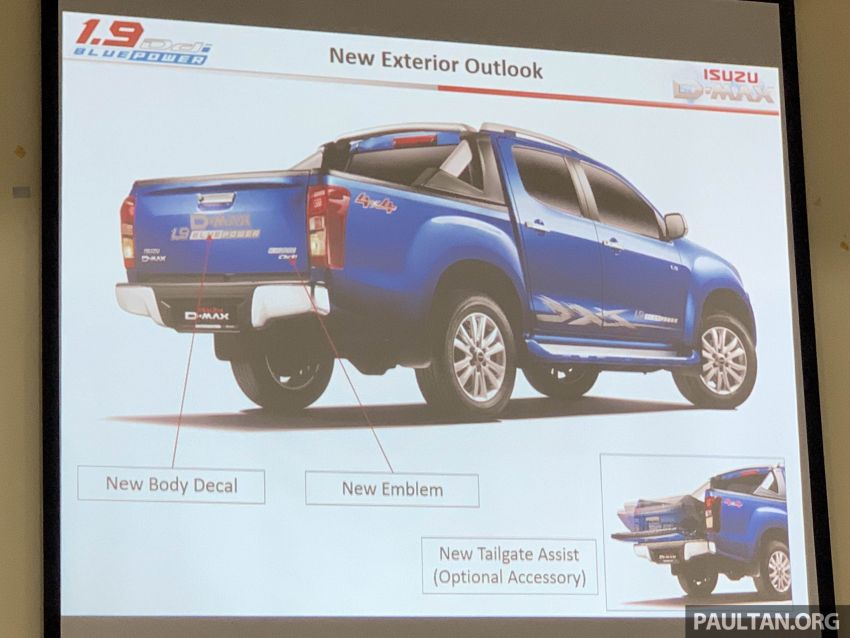 2019 Isuzu D-Max 1.9L Ddi BluePower to be launched in Malaysia on September 18 – 150 PS and 350 Nm Image #1011181