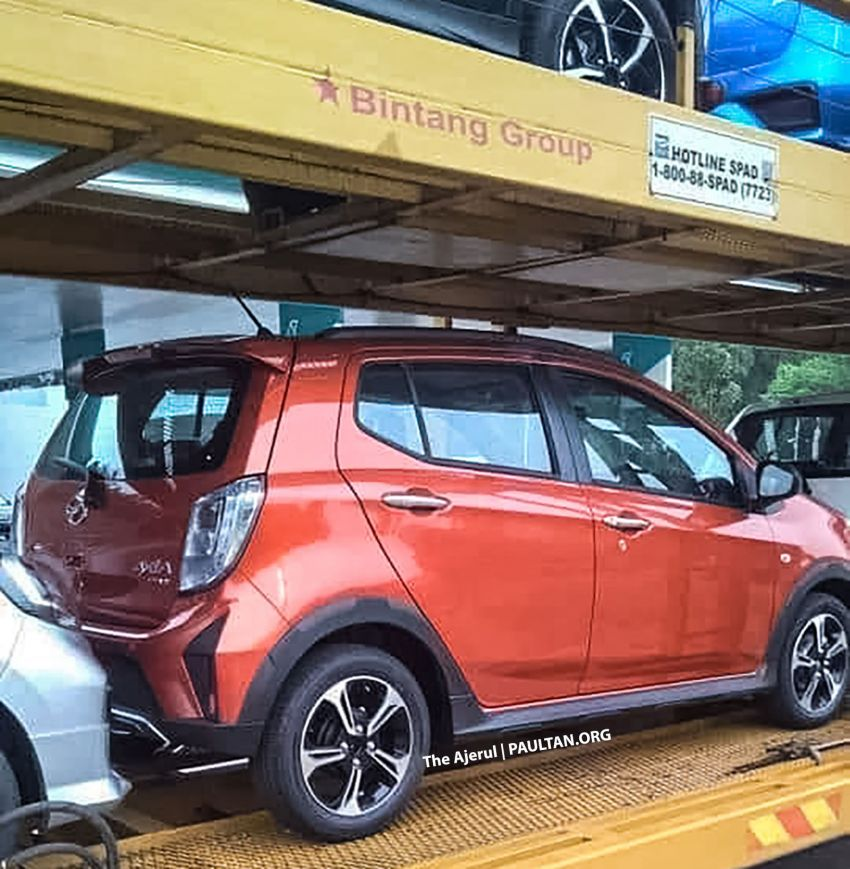 SPYSHOTS: 2019 Perodua Axia Style gets spotted Image #1016140