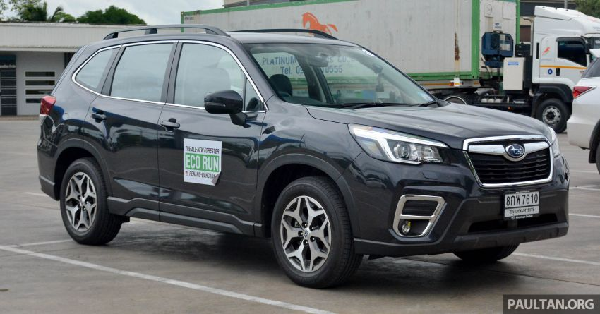 DRIVEN: 2019 Subaru Forester – living with the fifth-gen SUV on a 1,300 km drive from Penang to Bangkok Image #1020922