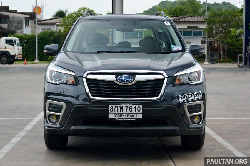 DRIVEN: 2019 Subaru Forester – living with the fifth-gen SUV on a 1,300 km drive from Penang to Bangkok Image #1020923
