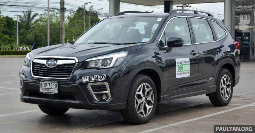 DRIVEN: 2019 Subaru Forester – living with the fifth-gen SUV on a 1,300 km drive from Penang to Bangkok Image #1020924