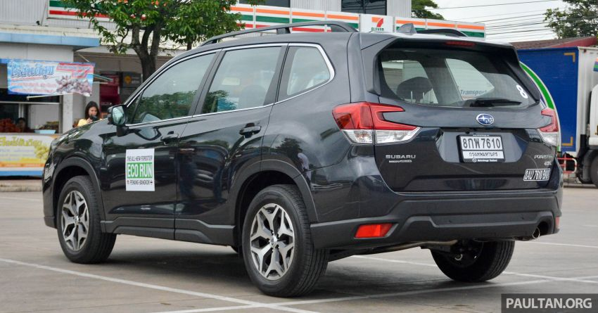 DRIVEN: 2019 Subaru Forester – living with the fifth-gen SUV on a 1,300 km drive from Penang to Bangkok Image #1020928
