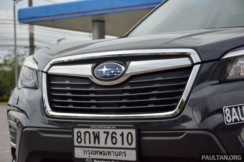 DRIVEN: 2019 Subaru Forester – living with the fifth-gen SUV on a 1,300 km drive from Penang to Bangkok Image #1020936