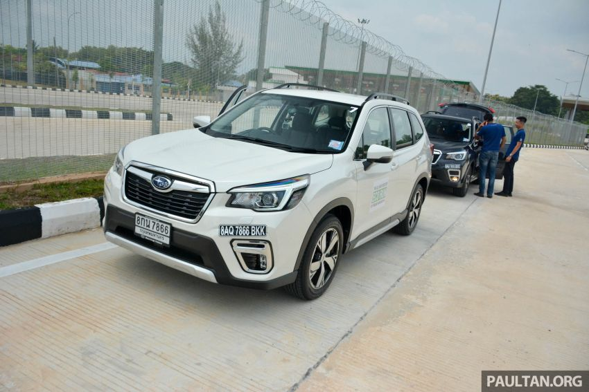 DRIVEN: 2019 Subaru Forester – living with the fifth-gen SUV on a 1,300 km drive from Penang to Bangkok Image #1020915