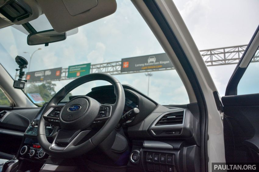 DRIVEN: 2019 Subaru Forester – living with the fifth-gen SUV on a 1,300 km drive from Penang to Bangkok Image #1020916