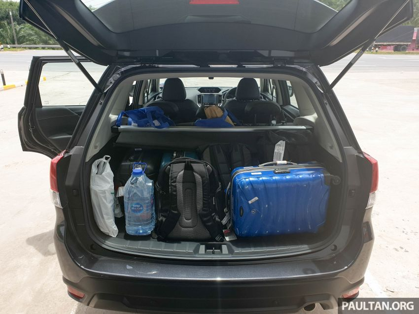 DRIVEN: 2019 Subaru Forester – living with the fifth-gen SUV on a 1,300 km drive from Penang to Bangkok Image #1020957
