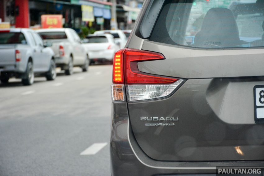 DRIVEN: 2019 Subaru Forester – living with the fifth-gen SUV on a 1,300 km drive from Penang to Bangkok Image #1020961