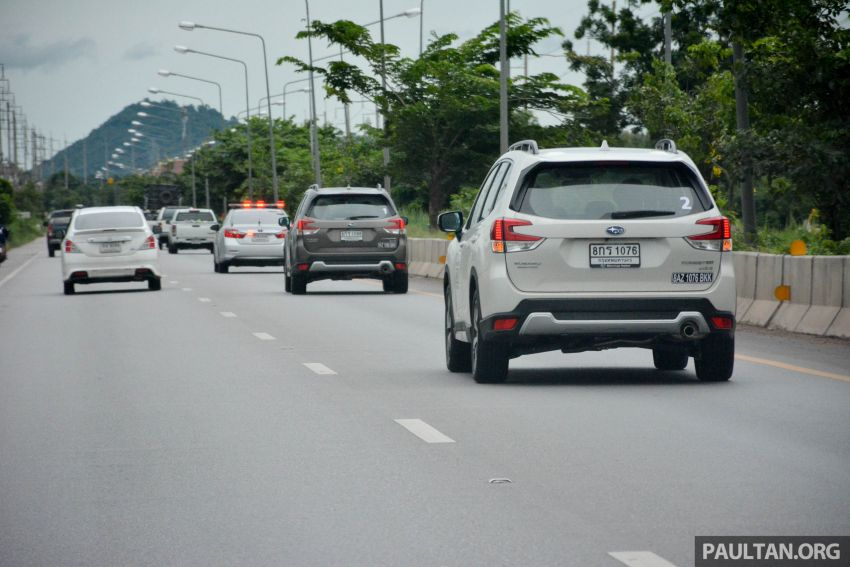 DRIVEN: 2019 Subaru Forester – living with the fifth-gen SUV on a 1,300 km drive from Penang to Bangkok Image #1020971