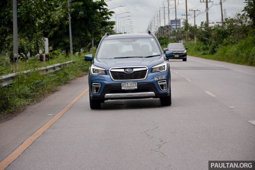 DRIVEN: 2019 Subaru Forester – living with the fifth-gen SUV on a 1,300 km drive from Penang to Bangkok Image #1020972