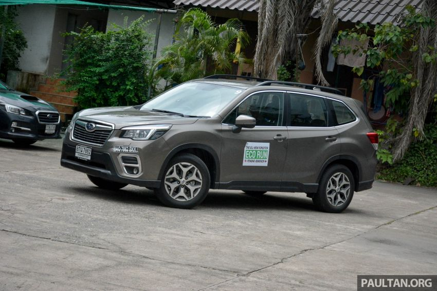 DRIVEN: 2019 Subaru Forester – living with the fifth-gen SUV on a 1,300 km drive from Penang to Bangkok Image #1020974