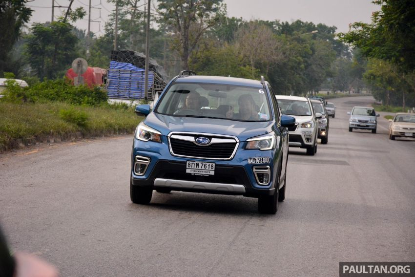 DRIVEN: 2019 Subaru Forester – living with the fifth-gen SUV on a 1,300 km drive from Penang to Bangkok Image #1020920