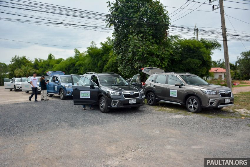 DRIVEN: 2019 Subaru Forester – living with the fifth-gen SUV on a 1,300 km drive from Penang to Bangkok Image #1020921
