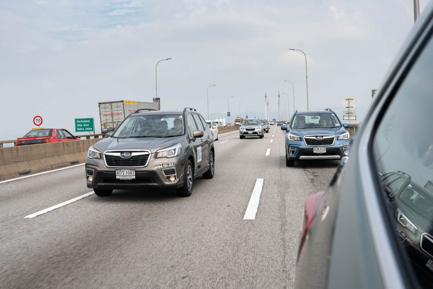 DRIVEN: 2019 Subaru Forester – living with the fifth-gen SUV on a 1,300 km drive from Penang to Bangkok Image #1020989