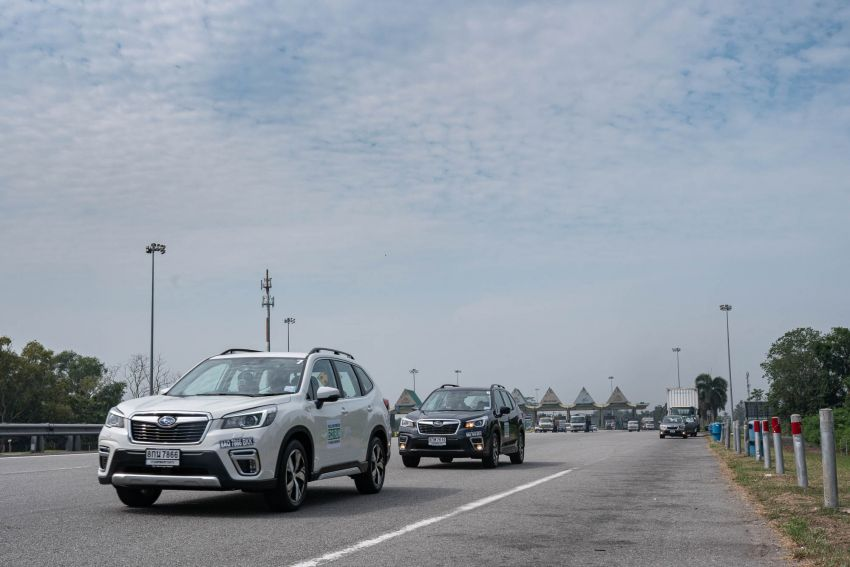 DRIVEN: 2019 Subaru Forester – living with the fifth-gen SUV on a 1,300 km drive from Penang to Bangkok Image #1020992