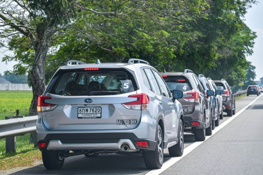 DRIVEN: 2019 Subaru Forester – living with the fifth-gen SUV on a 1,300 km drive from Penang to Bangkok Image #1020993