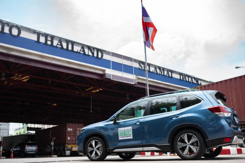 DRIVEN: 2019 Subaru Forester – living with the fifth-gen SUV on a 1,300 km drive from Penang to Bangkok Image #1020995