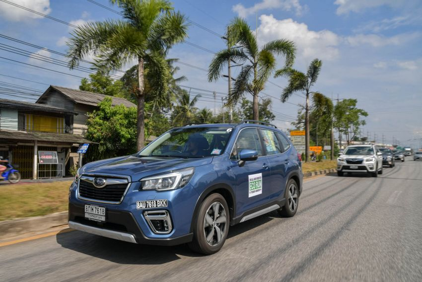 DRIVEN: 2019 Subaru Forester – living with the fifth-gen SUV on a 1,300 km drive from Penang to Bangkok Image #1020997