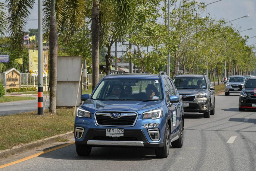 DRIVEN: 2019 Subaru Forester – living with the fifth-gen SUV on a 1,300 km drive from Penang to Bangkok Image #1020998