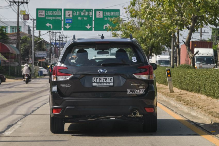 DRIVEN: 2019 Subaru Forester – living with the fifth-gen SUV on a 1,300 km drive from Penang to Bangkok Image #1020999