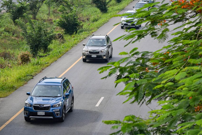 DRIVEN: 2019 Subaru Forester – living with the fifth-gen SUV on a 1,300 km drive from Penang to Bangkok Image #1021002
