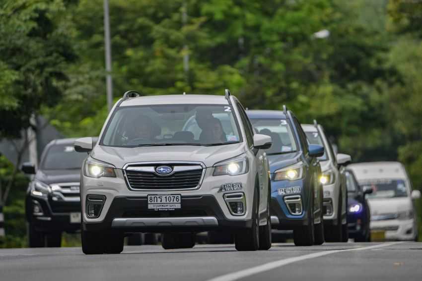 DRIVEN: 2019 Subaru Forester – living with the fifth-gen SUV on a 1,300 km drive from Penang to Bangkok Image #1021007