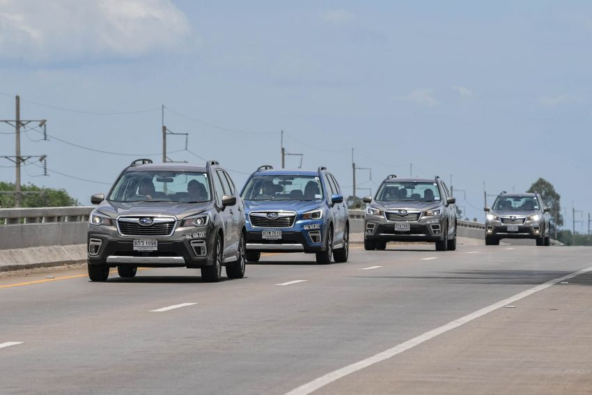 DRIVEN: 2019 Subaru Forester – living with the fifth-gen SUV on a 1,300 km drive from Penang to Bangkok Image #1021009