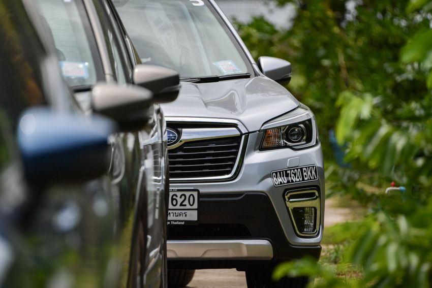 DRIVEN: 2019 Subaru Forester – living with the fifth-gen SUV on a 1,300 km drive from Penang to Bangkok Image #1021010