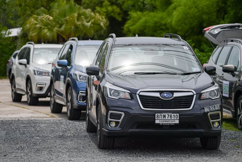 DRIVEN: 2019 Subaru Forester – living with the fifth-gen SUV on a 1,300 km drive from Penang to Bangkok Image #1021011