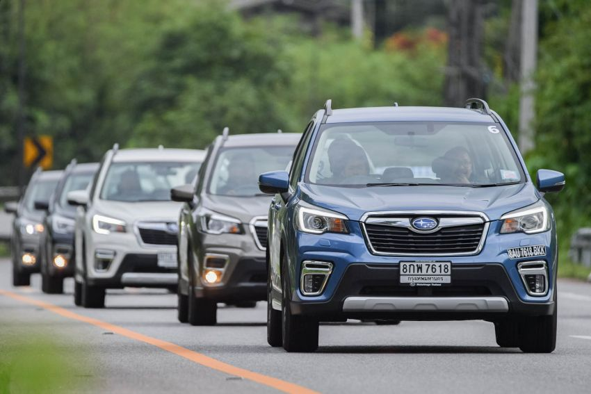 DRIVEN: 2019 Subaru Forester – living with the fifth-gen SUV on a 1,300 km drive from Penang to Bangkok Image #1021014
