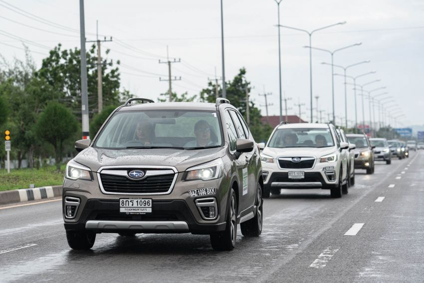DRIVEN: 2019 Subaru Forester – living with the fifth-gen SUV on a 1,300 km drive from Penang to Bangkok Image #1021016