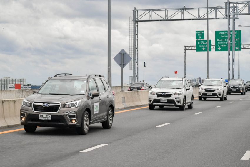 DRIVEN: 2019 Subaru Forester – living with the fifth-gen SUV on a 1,300 km drive from Penang to Bangkok Image #1021018