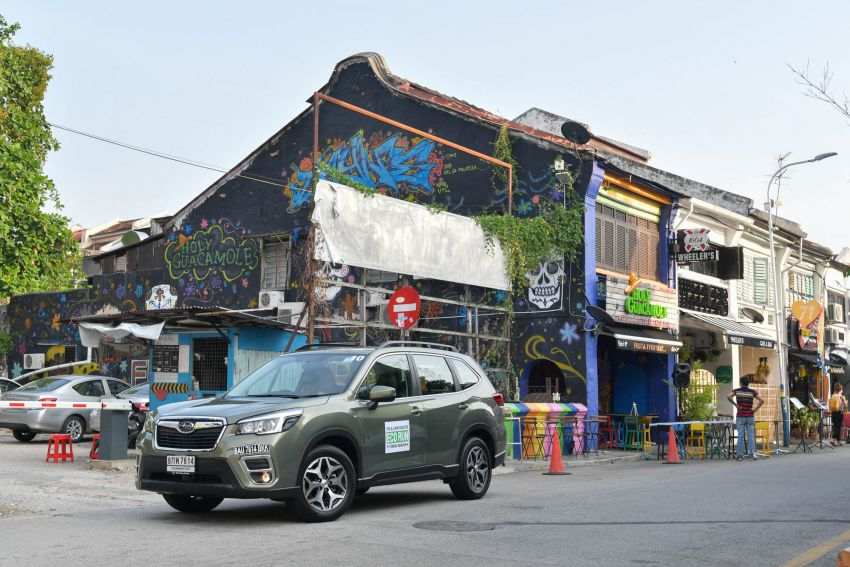 DRIVEN: 2019 Subaru Forester – living with the fifth-gen SUV on a 1,300 km drive from Penang to Bangkok Image #1020981