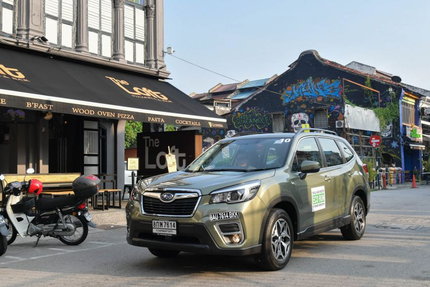 DRIVEN: 2019 Subaru Forester – living with the fifth-gen SUV on a 1,300 km drive from Penang to Bangkok Image #1020982