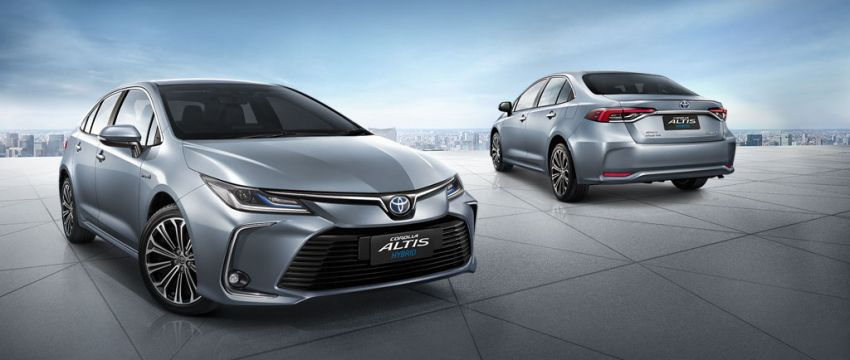 2019 Toyota Corolla Altis launched in Thailand – new Hybrid and GR Sport, from RM114k to RM151k Image #1010238