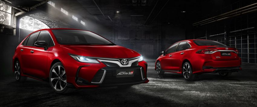 2019 Toyota Corolla Altis launched in Thailand – new Hybrid and GR Sport, from RM114k to RM151k Image #1010245