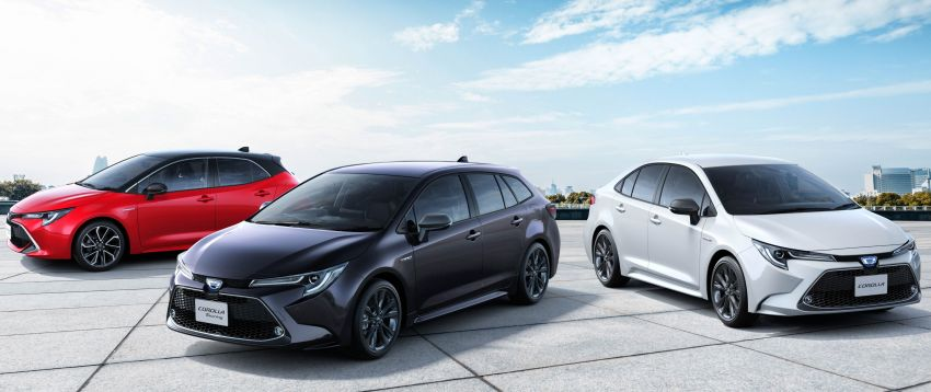 2019 Toyota Corolla officially goes on sale in Japan – three body styles; 1.8 NA, 1.2 turbo, 1.8 hybrid Image #1016038