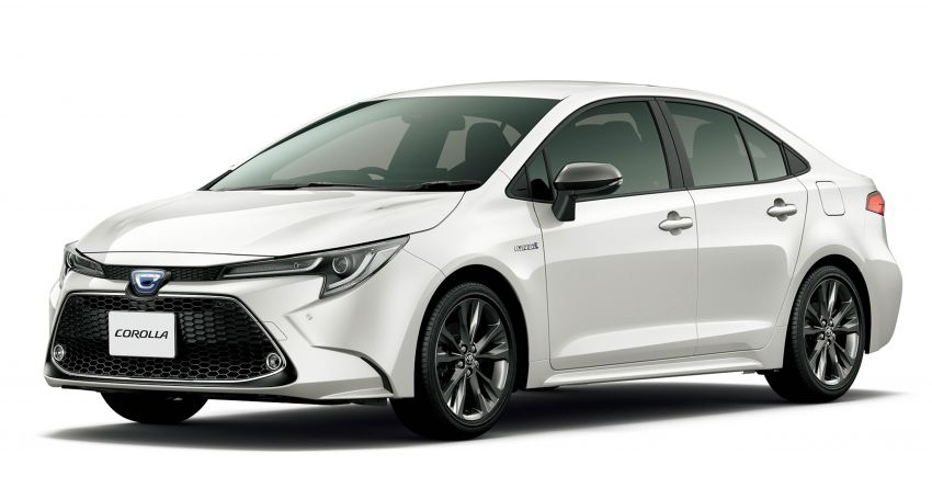 2019 Toyota Corolla officially goes on sale in Japan – three body styles; 1.8 NA, 1.2 turbo, 1.8 hybrid Image #1016065