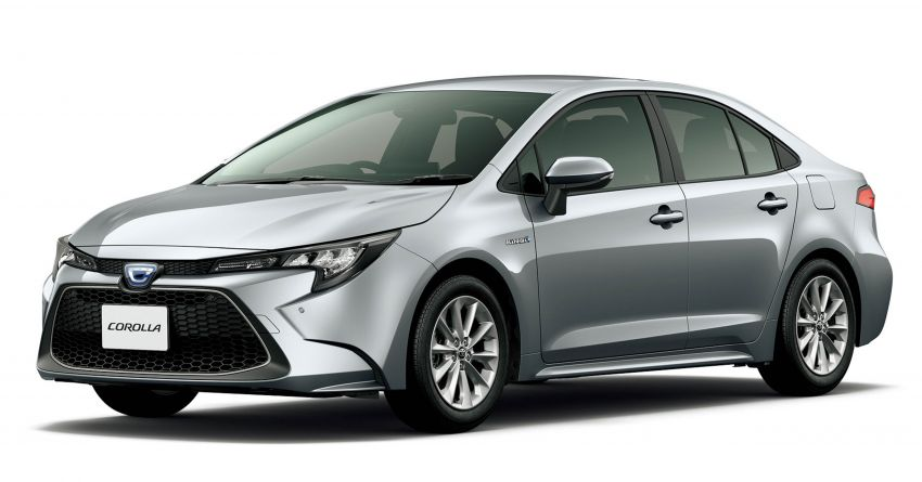 2019 Toyota Corolla officially goes on sale in Japan – three body styles; 1.8 NA, 1.2 turbo, 1.8 hybrid Image #1016068