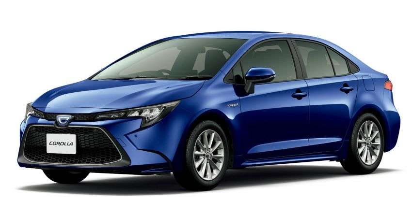 2019 Toyota Corolla officially goes on sale in Japan – three body styles; 1.8 NA, 1.2 turbo, 1.8 hybrid Image #1016070