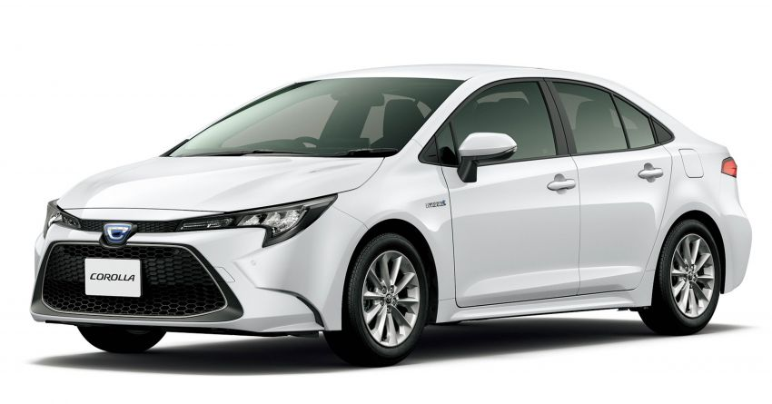 2019 Toyota Corolla officially goes on sale in Japan – three body styles; 1.8 NA, 1.2 turbo, 1.8 hybrid Image #1016071