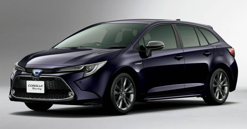 2019 Toyota Corolla officially goes on sale in Japan – three body styles; 1.8 NA, 1.2 turbo, 1.8 hybrid Image #1016083