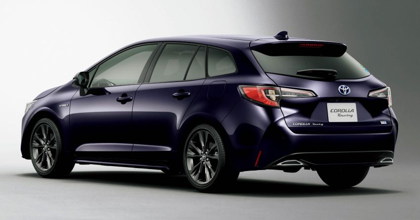 2019 Toyota Corolla officially goes on sale in Japan – three body styles; 1.8 NA, 1.2 turbo, 1.8 hybrid Image #1016084