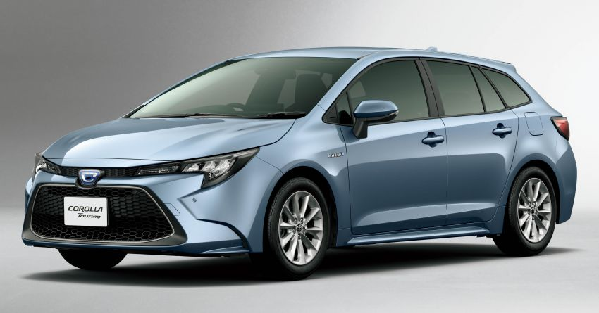 2019 Toyota Corolla officially goes on sale in Japan – three body styles; 1.8 NA, 1.2 turbo, 1.8 hybrid Image #1016088