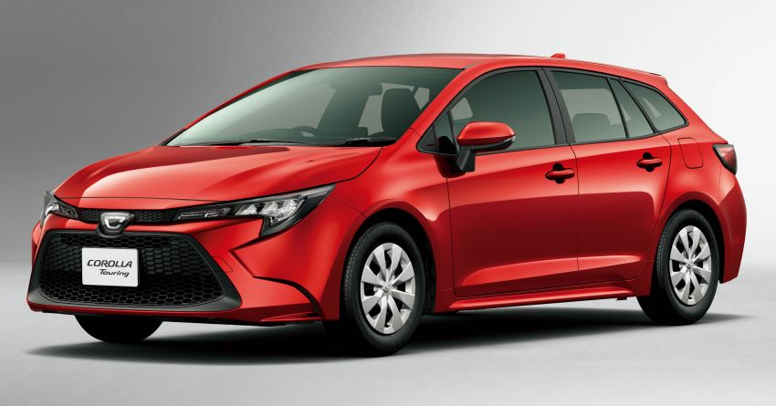 2019 Toyota Corolla officially goes on sale in Japan – three body styles; 1.8 NA, 1.2 turbo, 1.8 hybrid Image #1016090