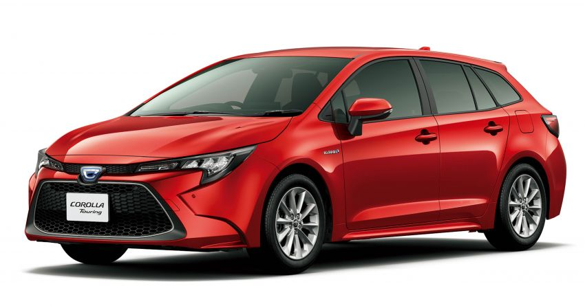 2019 Toyota Corolla officially goes on sale in Japan – three body styles; 1.8 NA, 1.2 turbo, 1.8 hybrid Image #1016095
