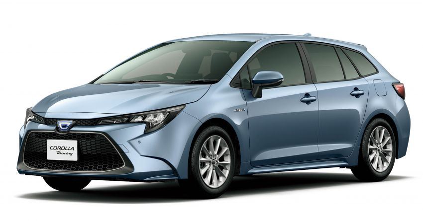 2019 Toyota Corolla officially goes on sale in Japan – three body styles; 1.8 NA, 1.2 turbo, 1.8 hybrid Image #1016097