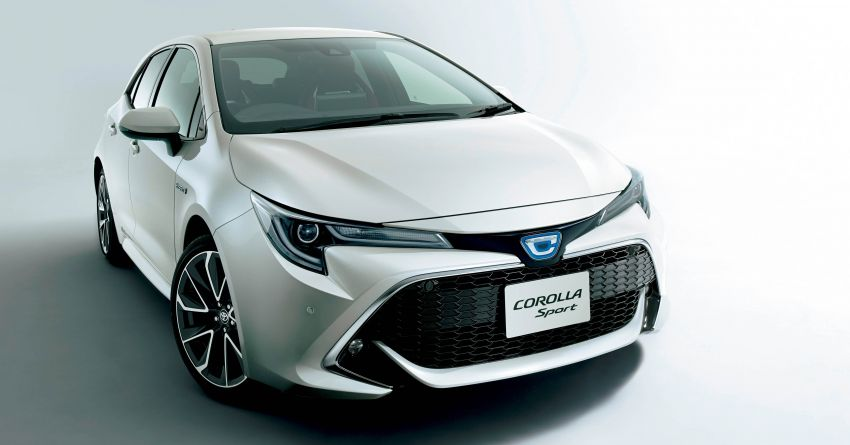2019 Toyota Corolla officially goes on sale in Japan – three body styles; 1.8 NA, 1.2 turbo, 1.8 hybrid Image #1016106
