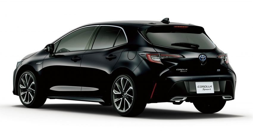 2019 Toyota Corolla officially goes on sale in Japan – three body styles; 1.8 NA, 1.2 turbo, 1.8 hybrid Image #1016109