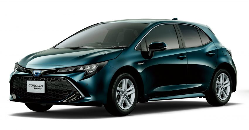 2019 Toyota Corolla officially goes on sale in Japan – three body styles; 1.8 NA, 1.2 turbo, 1.8 hybrid Image #1016112