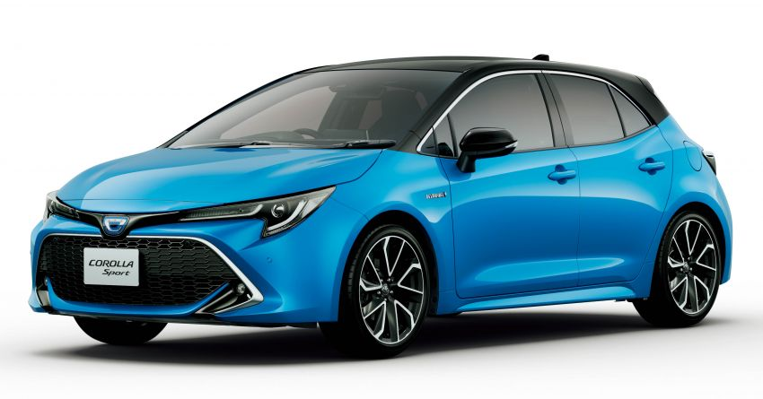 2019 Toyota Corolla officially goes on sale in Japan – three body styles; 1.8 NA, 1.2 turbo, 1.8 hybrid Image #1016118